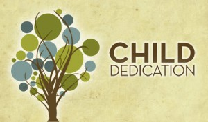 Child Dedication Header